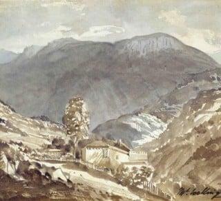 Mt Wellington, Hobart, Tasmania, 1847.