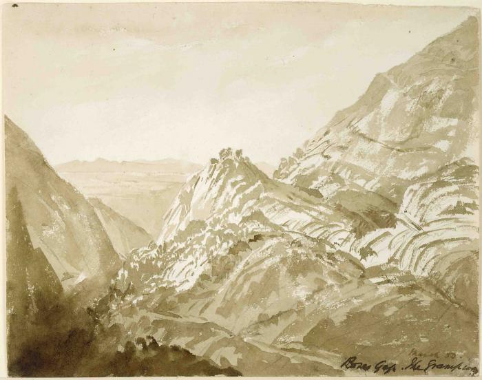 Roses Gap, The Grampians, Victoria, 1853.