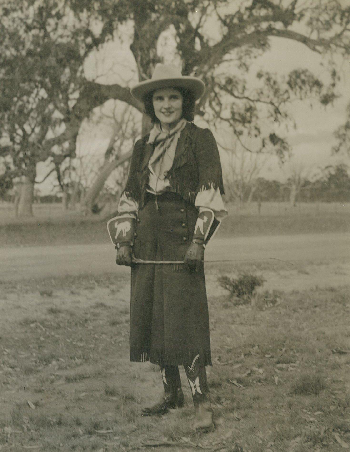 'Cowgirl' Claire Adams Mackinnon