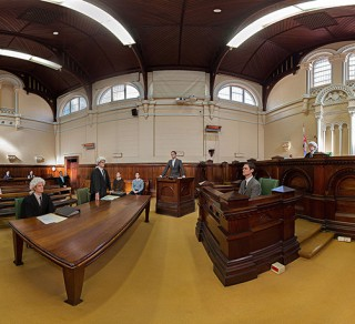 Try our 3D Interactive Courtroom