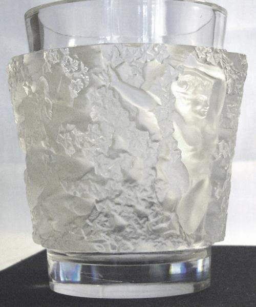 René Lalique:  'Bacchus' vase