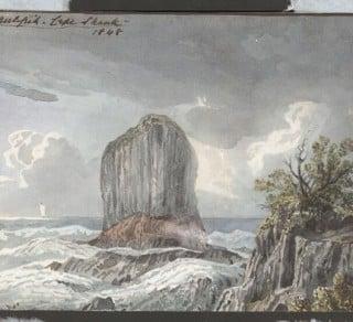 Pulpit Rock Cape Schank, Victoria, 1848.