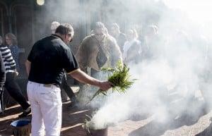 Old Observatory Smoking Ceremony