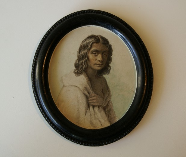 Portrait of Eliza by Georgiana McCrae c. 1845.