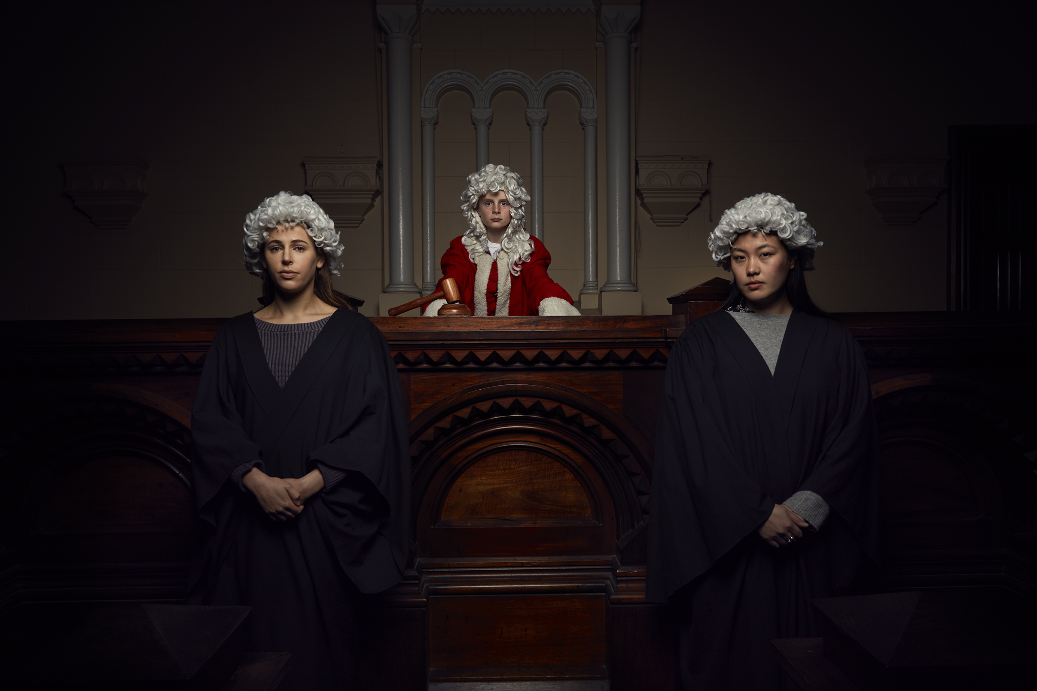 Old Melbourne Gaol - Court Room Dramas
