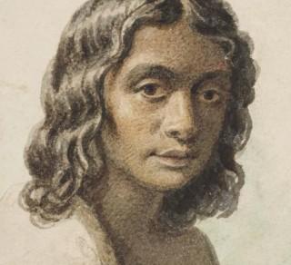 Portrait of Eliza by Georgiana McCrae c1845