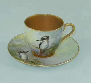 Demitasse Cup and Saucer 'Kookaburra'