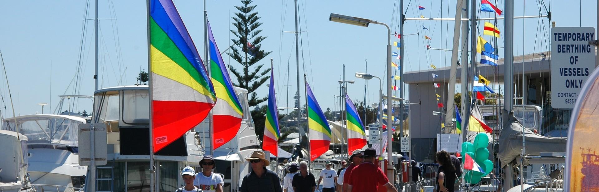 Fremantle Sailing Club Jetties