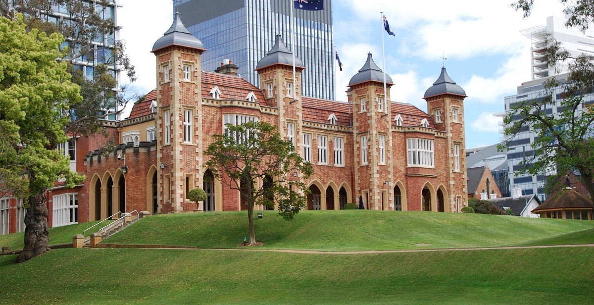 Official residence and office of the Governor of Western Australia since 1863