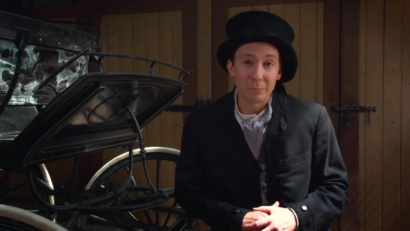 1890 - A Melbourne evening for a coachman