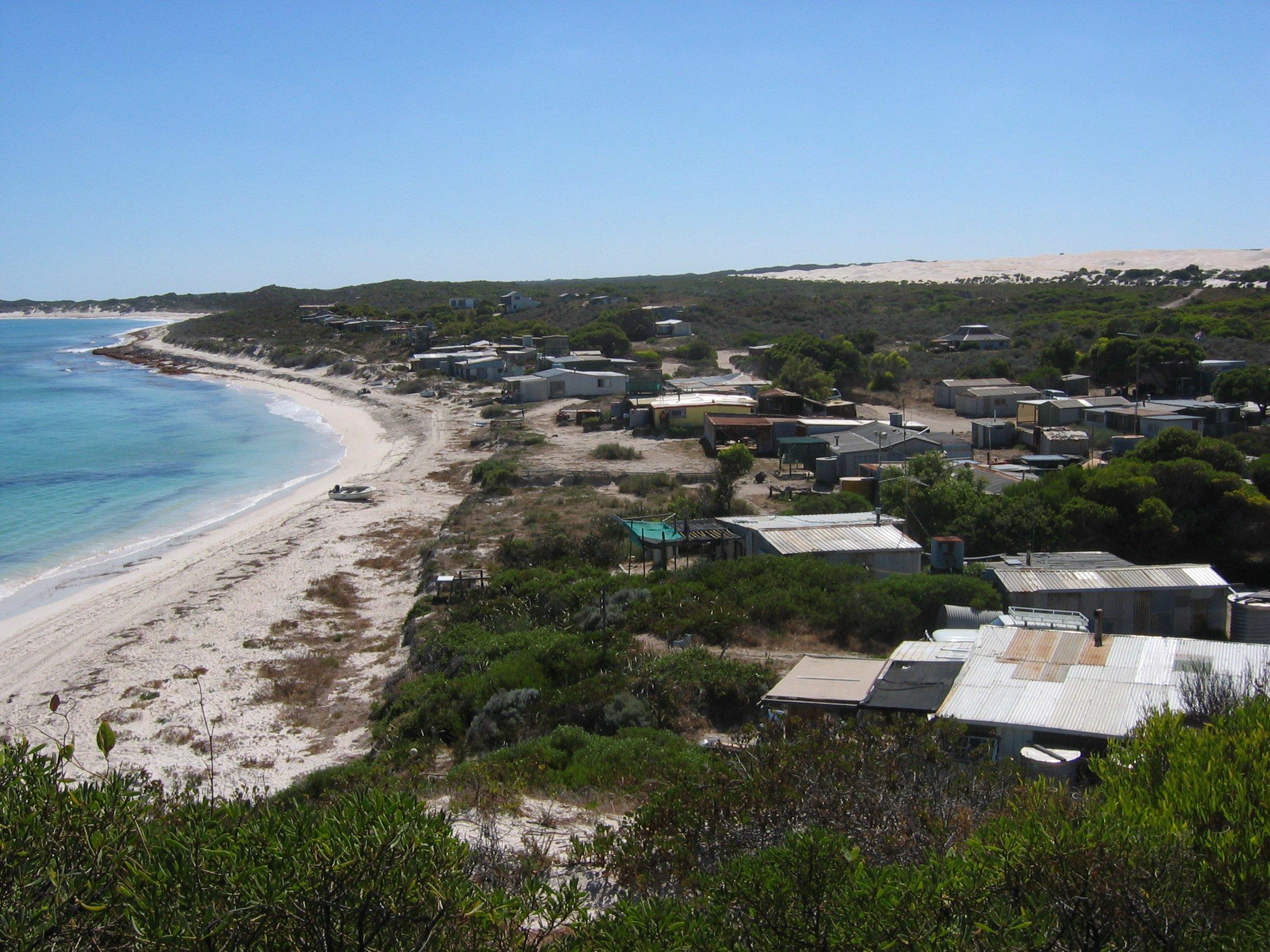 Wegde and Grey Beach Shack Community