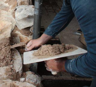 Masonry Skills - Mortar and trowel