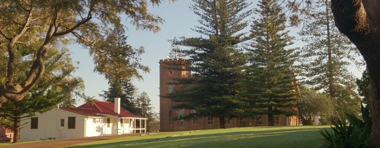 Convict built St Thomas Anglican Church and Surgeon General's Dispensary Port Macquarie