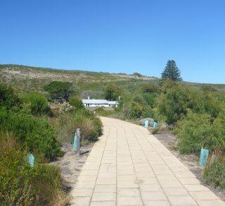 Ellensbrook Mokidup - pathway to place