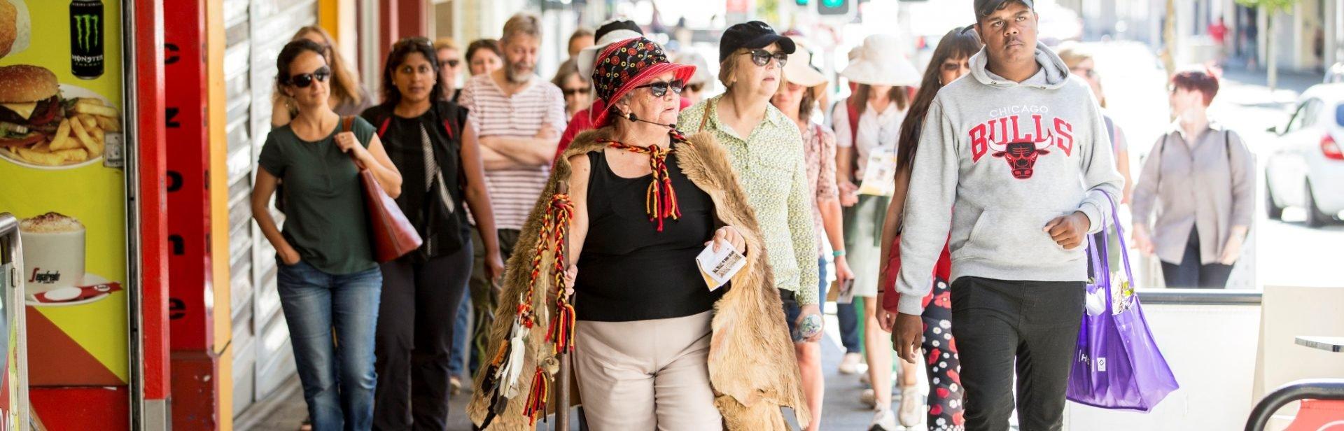 Fanny Balbuk Walk CBD