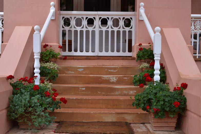 retford park open garden front stairs