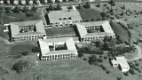 Aerial view of Robb College