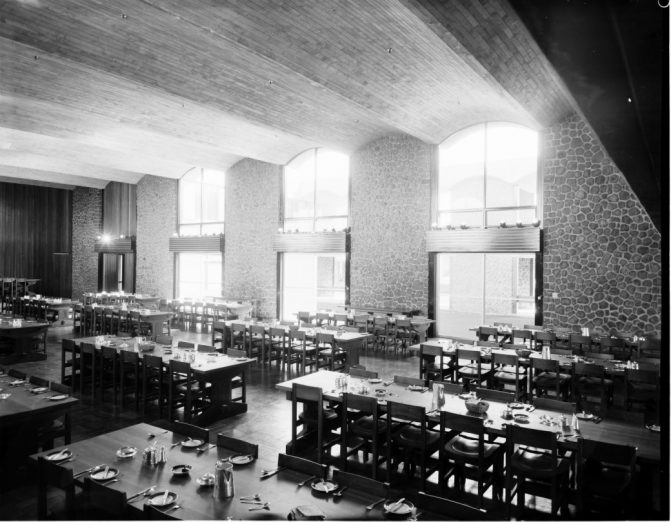 The Dining Hall source Photo Max Dupain