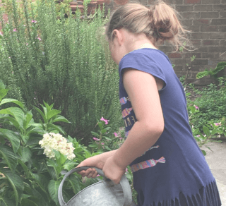 Garden Day at Miss Porter's House