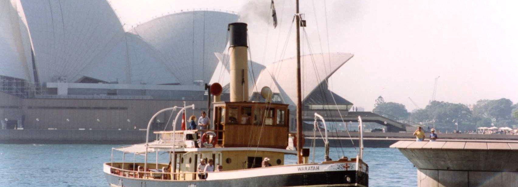 Steam tug Waratah