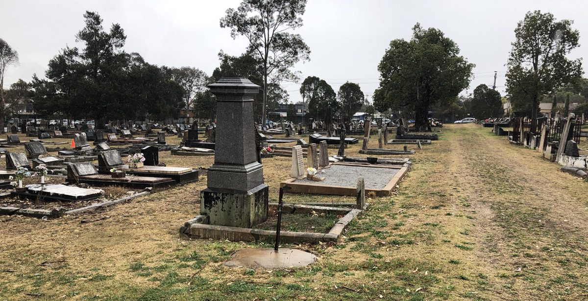St Peters Cemetery taken in September 2018