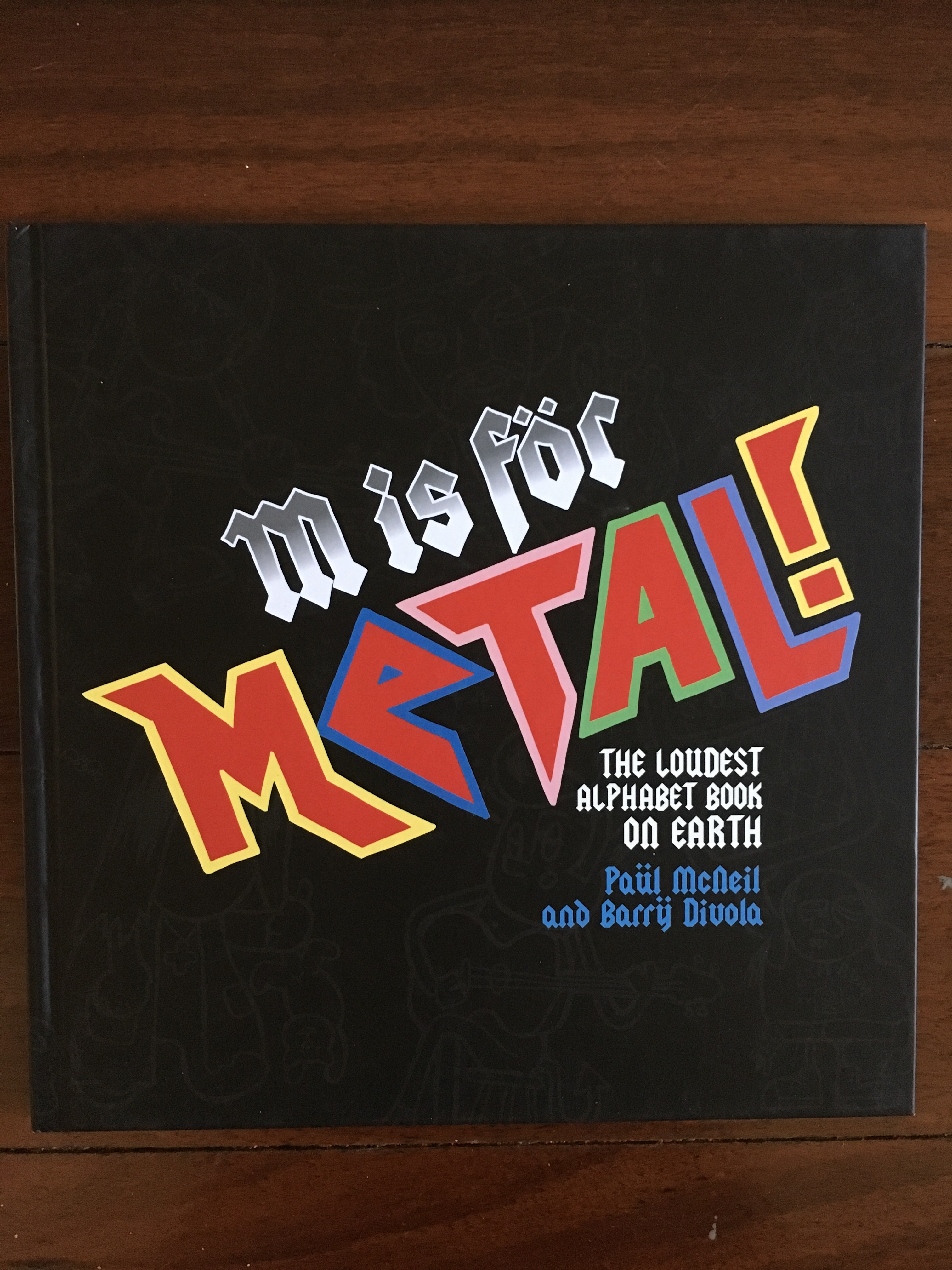 M is for Metal Alphabet Book