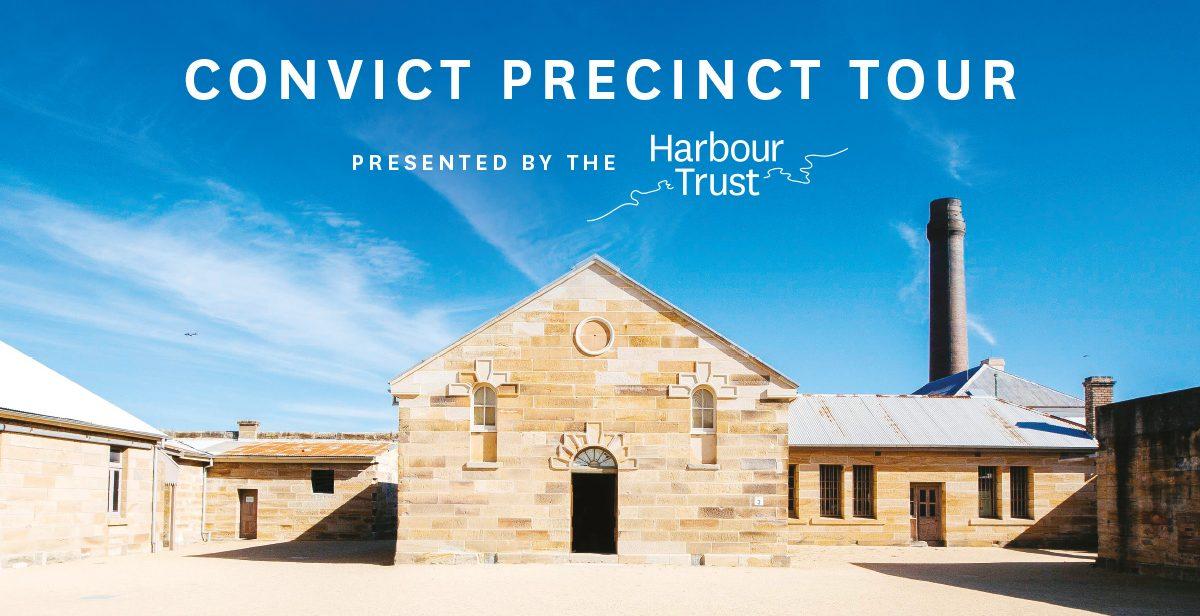 Convict Precinct Tours on Cockatoo Island