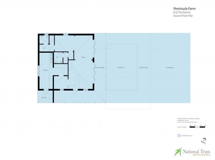 Peninsula Farm Tea Rooms Floor Plan