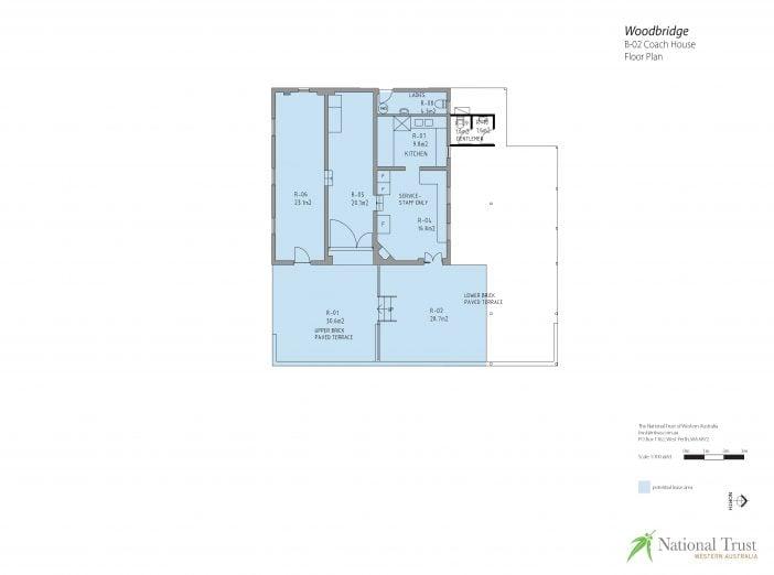 Woodbridge Coach House Floor Plan