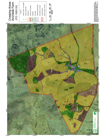 Avondale Farm EOI - Cropping areas