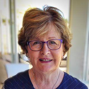 Cheryl bates Chair of the National Trust Parramatta Branch, NSW