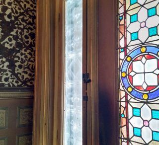 Labassa Entry Door Sidelight Conservation