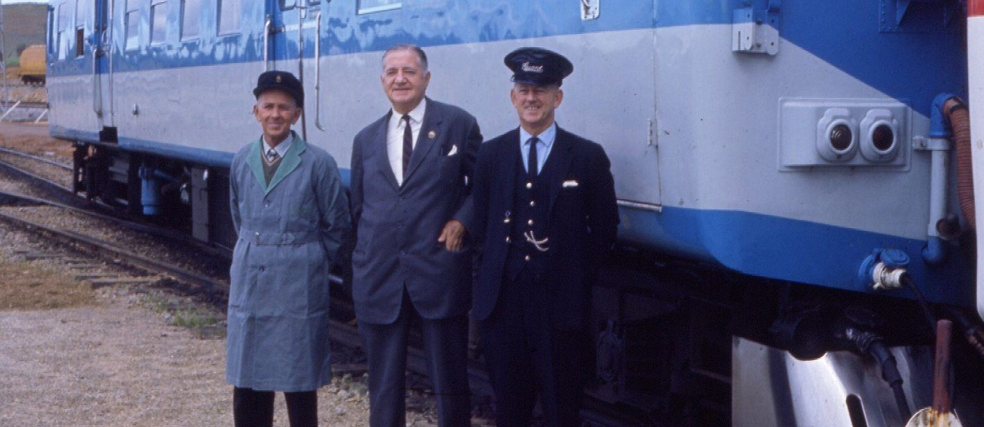 A guard, driver and Commissioner - just three of the railway jobs.
