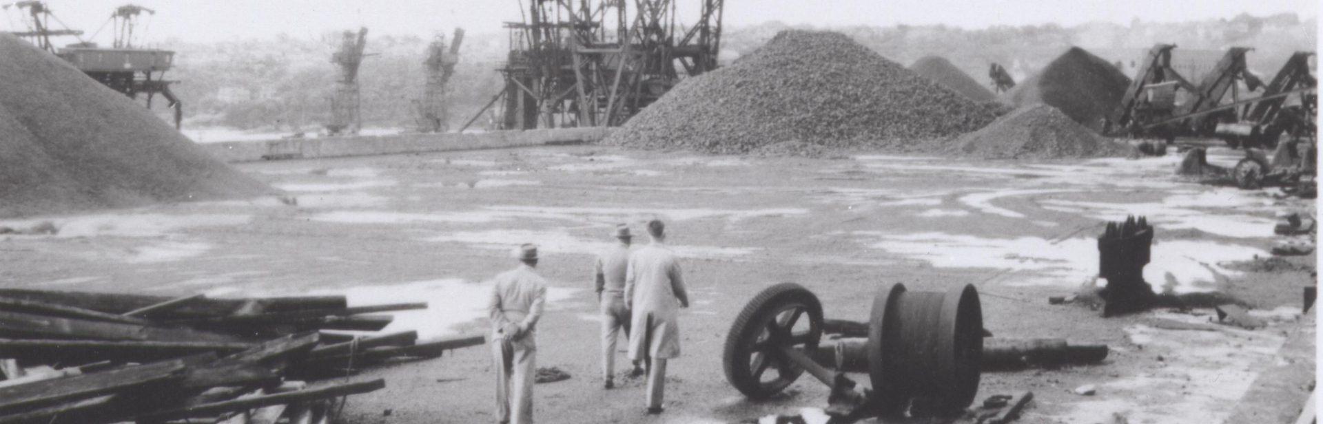 The coal loader platform c.1955