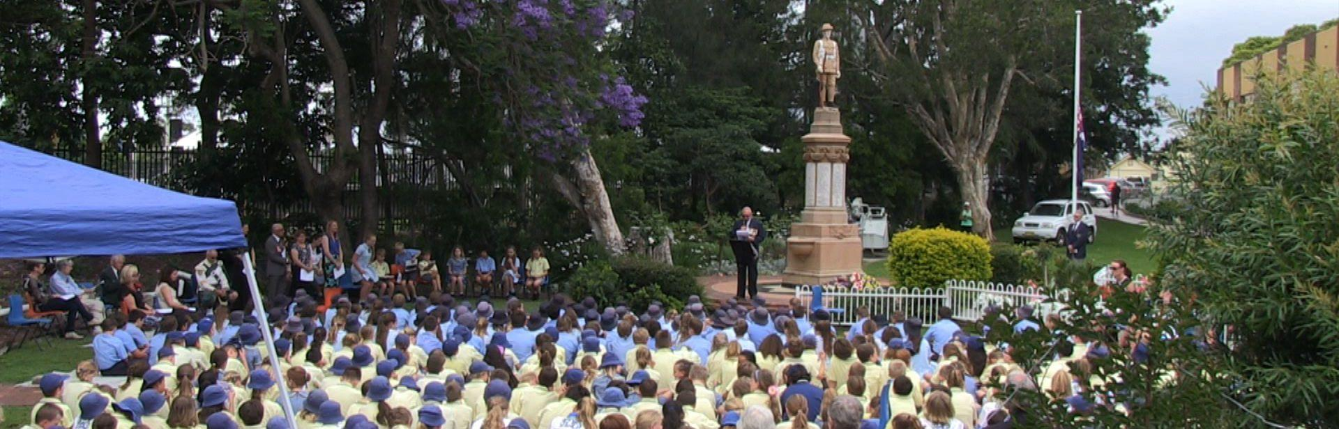 Thirroul Remembrance Ceremony