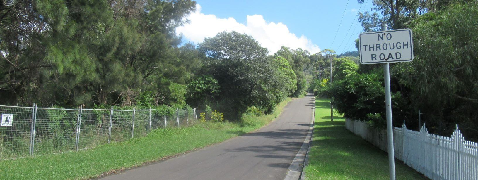 Our Earliest Northern Illawarra Gateway now a Road to Nowhere