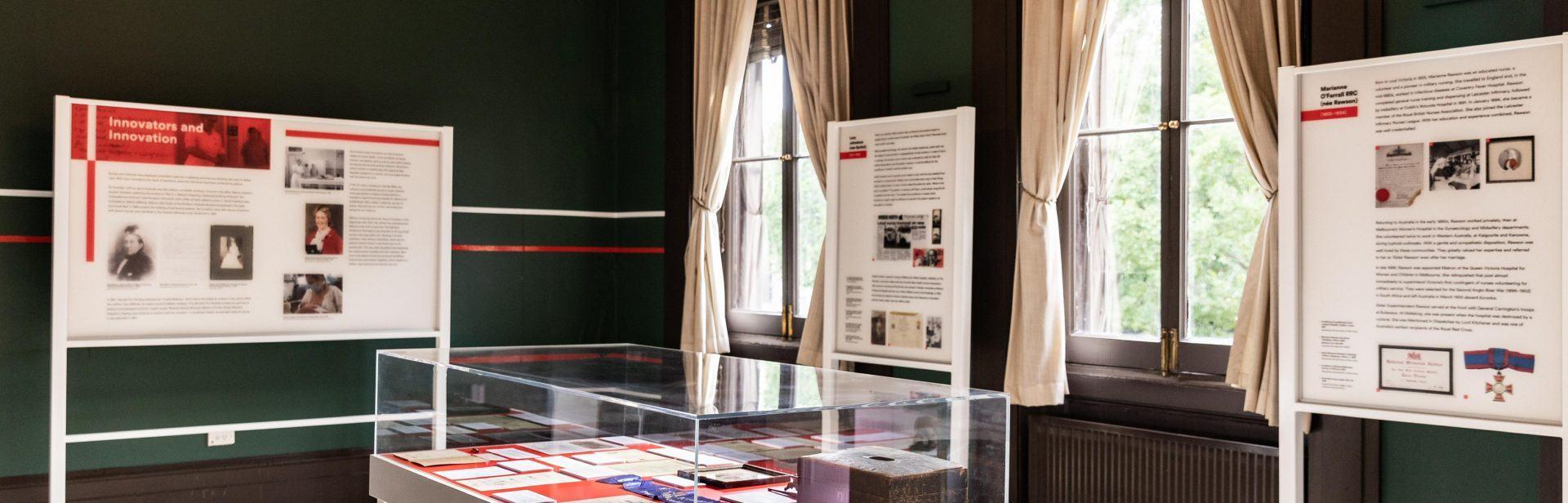 Unmasked exhibition